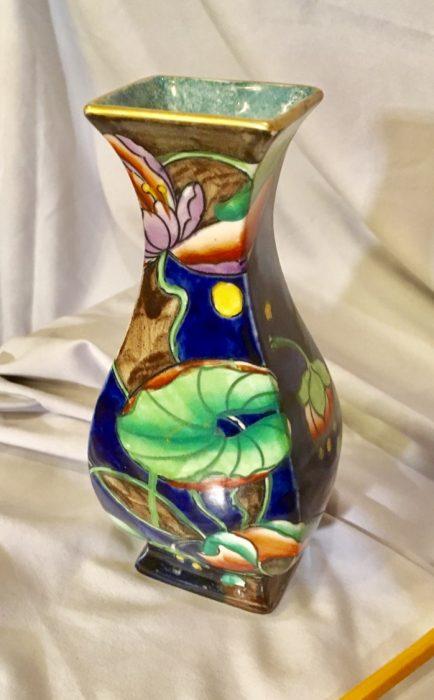 Corona ware Waterlily Vase 1925
