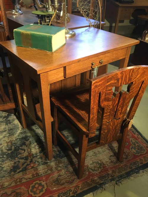 Arts and Crafts Writing Table ca. 1905