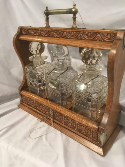 Decanter Tantalus set Ca1900