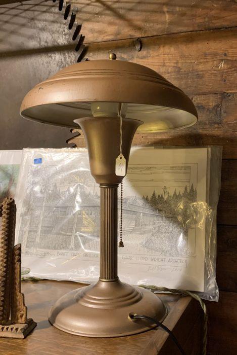 Art Deco Mushroom Lamp 1930s-40s.