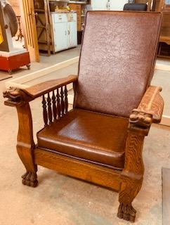 Morris Chair recliner Ca 1890.